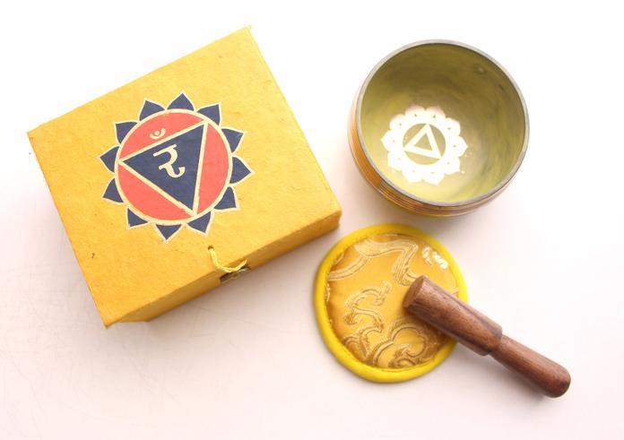 Chakra klankschaal in geschenkdoos