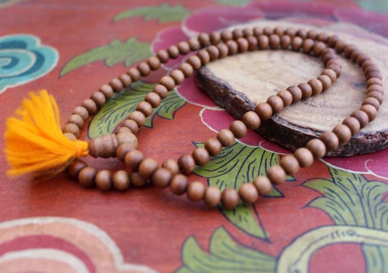 Gebedsmala uit sandelhout