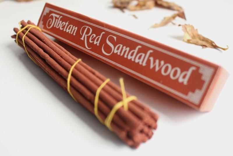 Tibetaanse rode sandelhout wierook