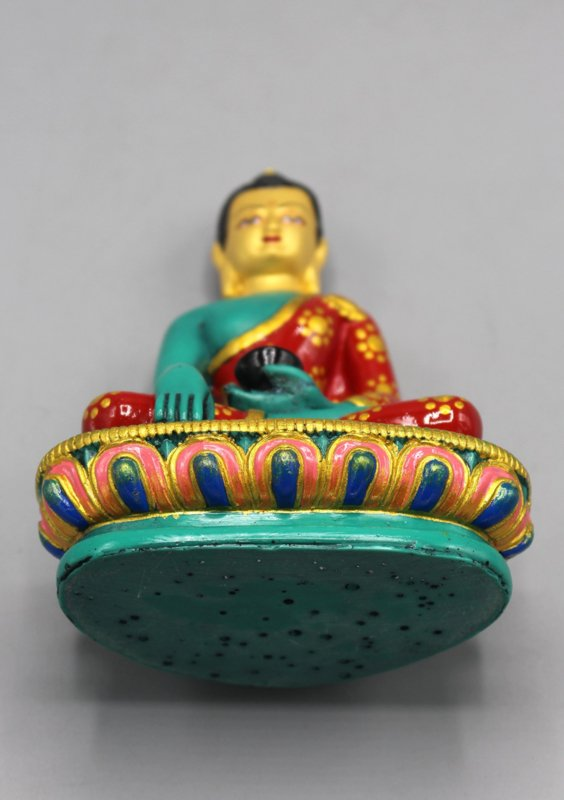 Groen Shakyamuni Boeddhabeeld