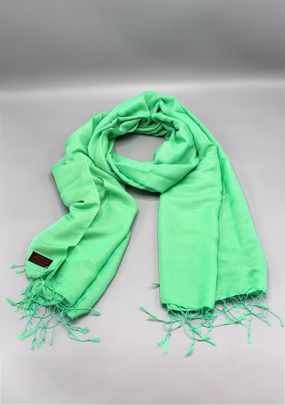 Biscay Green water pashmina sjaal