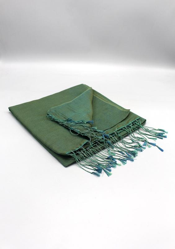 Chive water pashmina sjaal