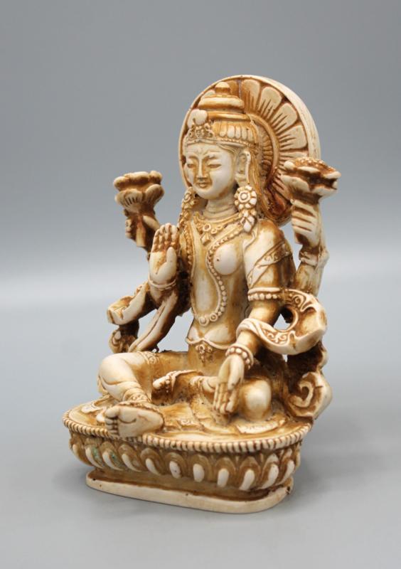 Hindoegodin Lakshmi beeld