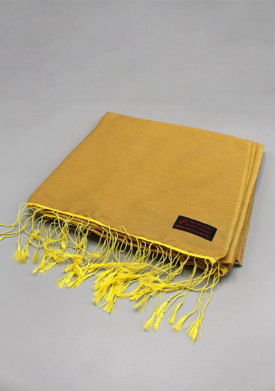 Golden sunlight water pashmina sjaal