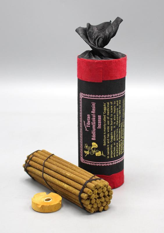 Tibetaanse Bdellium-Gokul wierook