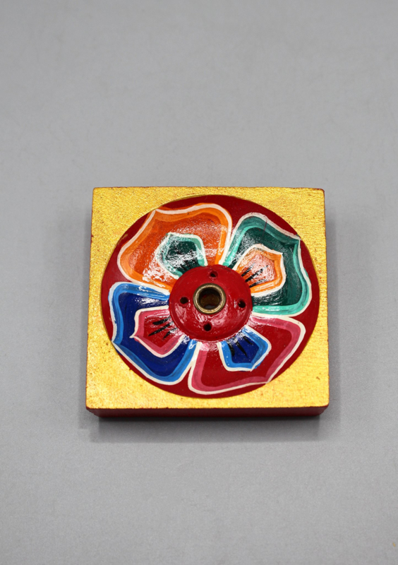 Tibetaanse lotusbloem wierookhouder