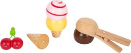 Verkoopstand ijsjes