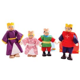 Poppetjes - koninklijke familie