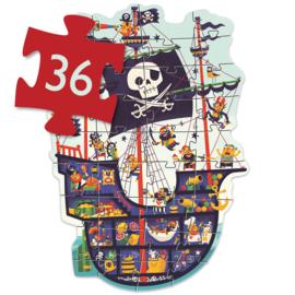 Grote puzzel - piraten