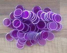 Magnetic bingo chips
