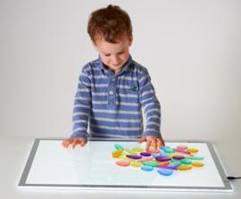 Clear Junior Rainbow Pebbles