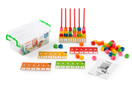 Activiteiten abacus (linking cubes)