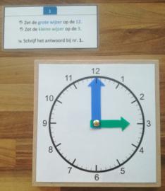 Régler l'heure