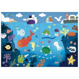 Grote puzzel - onder de zee