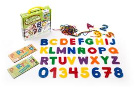 123 ABC rijgvormen
