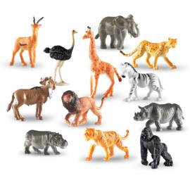 Wilde dieren sorteerset (levensecht)