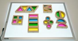 Regenboog blokken set