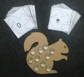 jeu d'écureuil