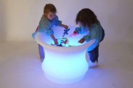 Lichtgevende watertafel