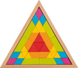 Legpuzzel mozaïek driehoek