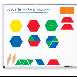 Grands blocs de motifs magnétiques