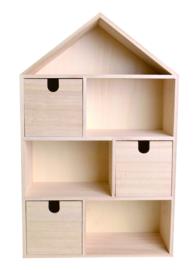 (Letter)huis met laden