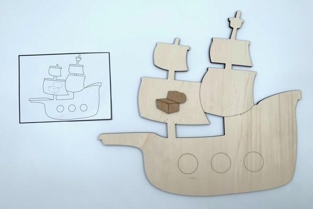 Topologie piratenboot