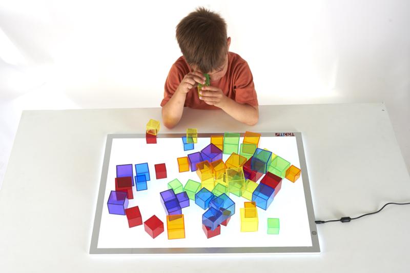 Cubes transparents