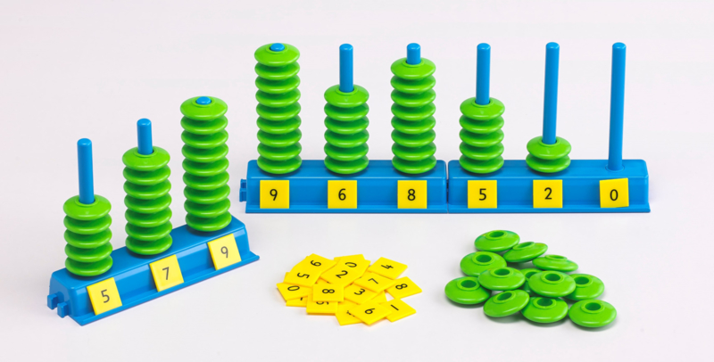 Numbers abacus set