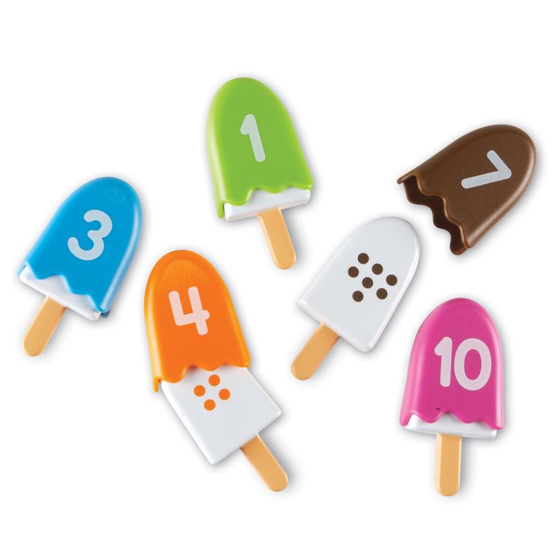 Tellen met ijsjes