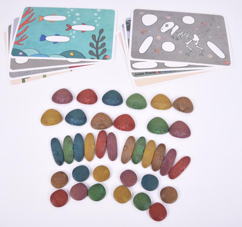 Eco rainbow stones