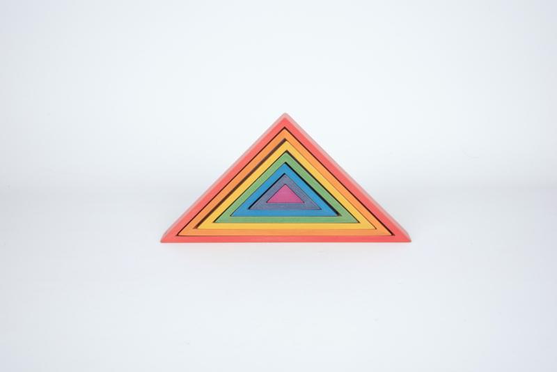 Regenboog architect blokken