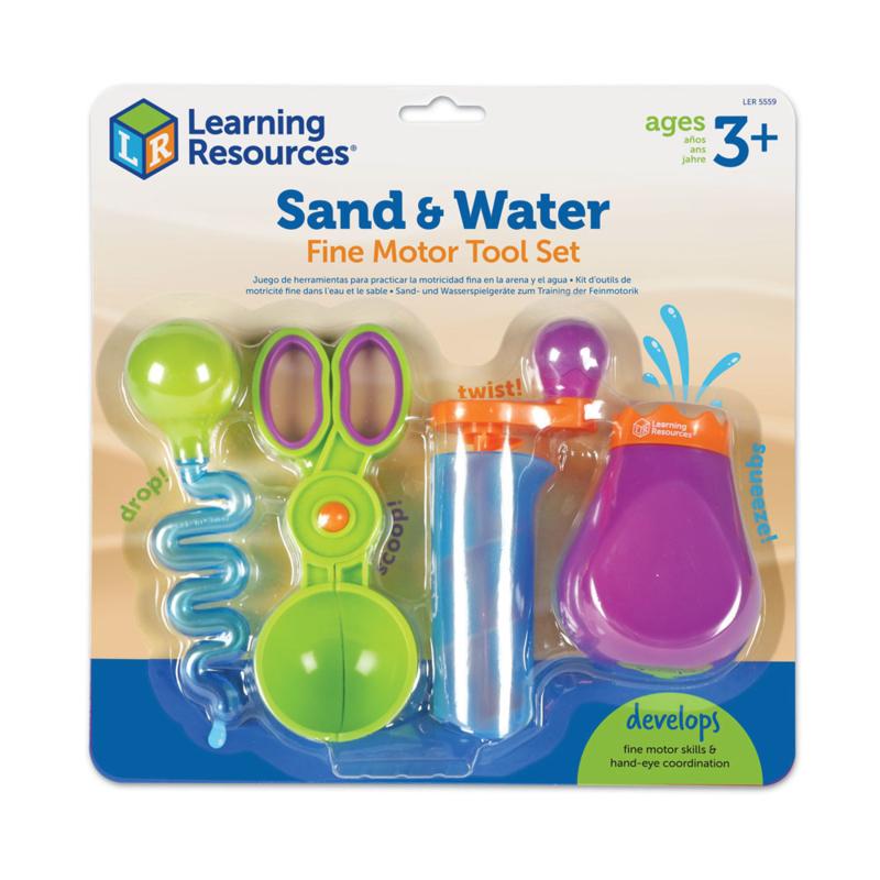 Fijnmotorische zand- en waterset