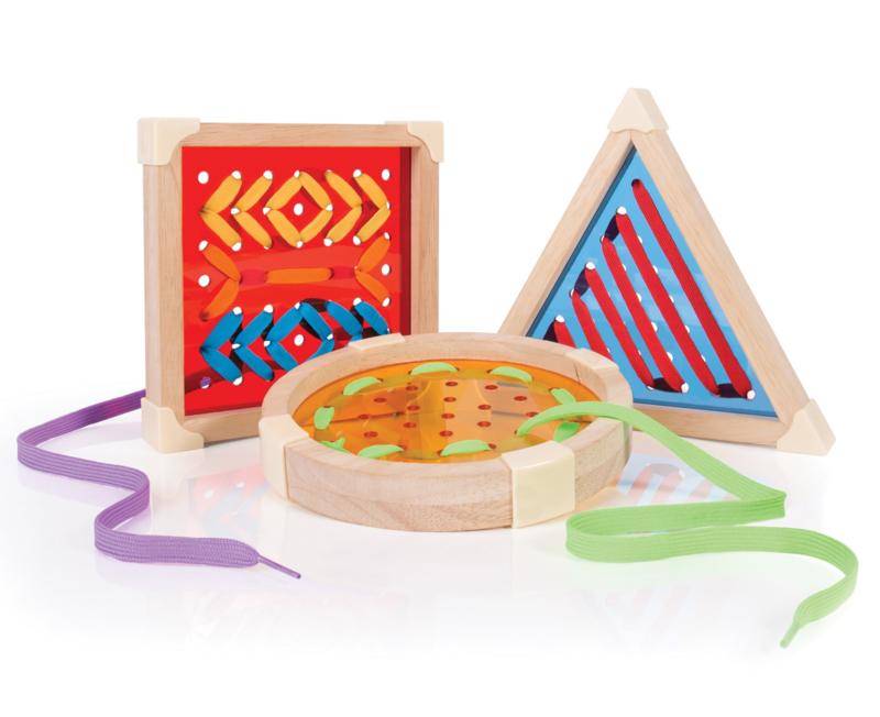 Geometric lace shapes