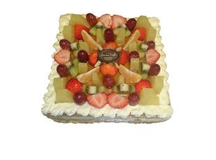 Vruchten Taart 16 pers.