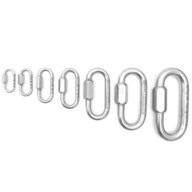 Kong Oval quick link stainless steel