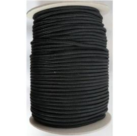 Zwart touw 4 mm 100 meter
