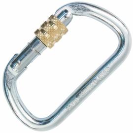 Kong Oval D screw lock steel