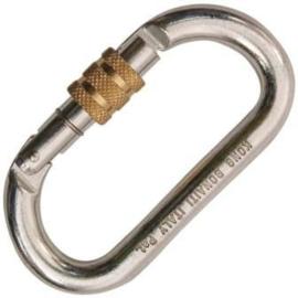 Kong Oval steel screw lock