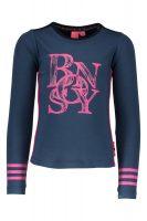 Bnosy shirt Petrol / Roze