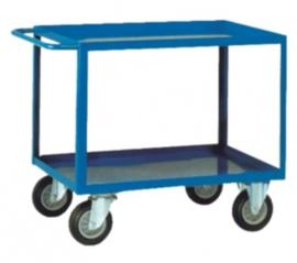 Etage- of montagewagen met 2 niveau's tot 400 kg belastbaar.