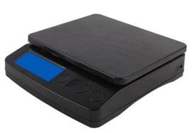 Post-, pakket- en keukenweegschaal met tara-functie en geschikt voor gebruik met voedsel