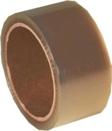 Polypropyleen plakband Bruin 48 mm breed x 54 meter lang