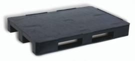 Kunststof pallet met EURO 1200x800 mm.