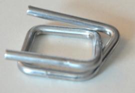 Klemmen voor polyester omsnoeringsband van 13-16 mm