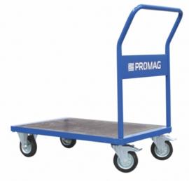 Platformwagen met platform van waterdicht multiplex tot 500 kg.