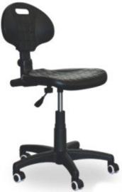 Werkplaatsstoel met polyurethaan zitting