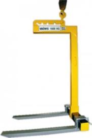 Kraanvork voor o.a. pallets 500 tot 1500 kg