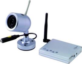 PROFILE draadloze camera set basic - PSE-109 - geschikt voor binnen en buiten gebruik