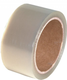 Polypropyleen plakband Transparant 48 mm breed x 54 meter lang